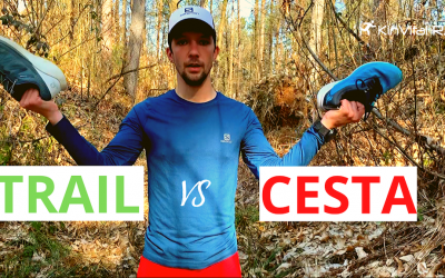 KinVital Running Academy I Epizoda #1 I Trail vs. cesta